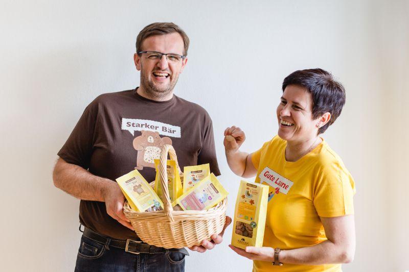 Tierisch gute Bio-Kekse für Veganer