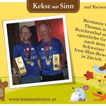 Hermann und Thomas aus Reichenthal - Grüße aus Zürich