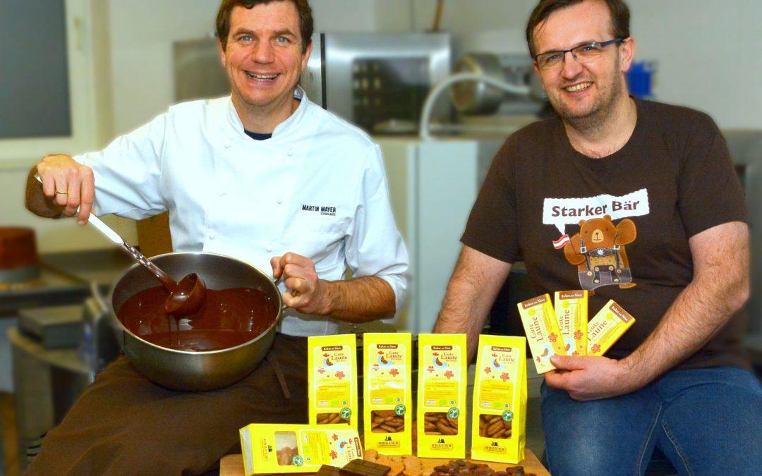 Bio-Keks trifft Schokolade