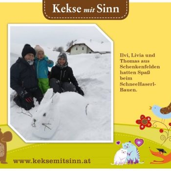 Ilvy, Livia & Jonas aus Schenkenfelden