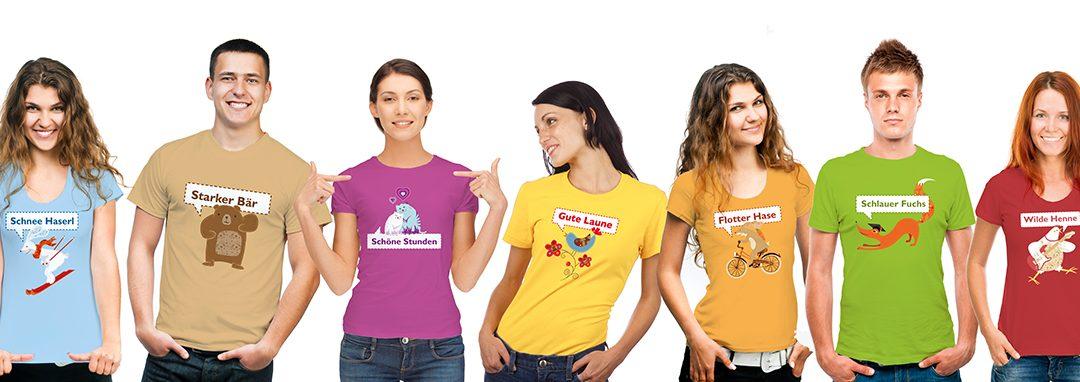 """Gewinner """"Urlaubsgrüße 2020"""" und  """"Wilde Henne""""-Shirts in Bioqualität"""